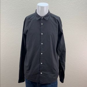 Mens Patagonia Brown Long Sleeve Button Up Shirt